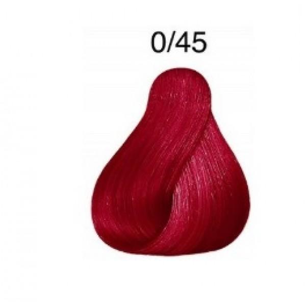 LONDA COLOR Vopsea permanenta 0/45, MIXTON ROSU ARAMIU 60 ml