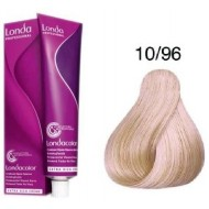 LONDA COLOR Vopsea permanenta 10/96, BLOND SOLAR CENDRE VIOLET 60 ml
