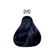LONDA COLOR Vopsea permanenta 2/0, NEGRU 60 ml