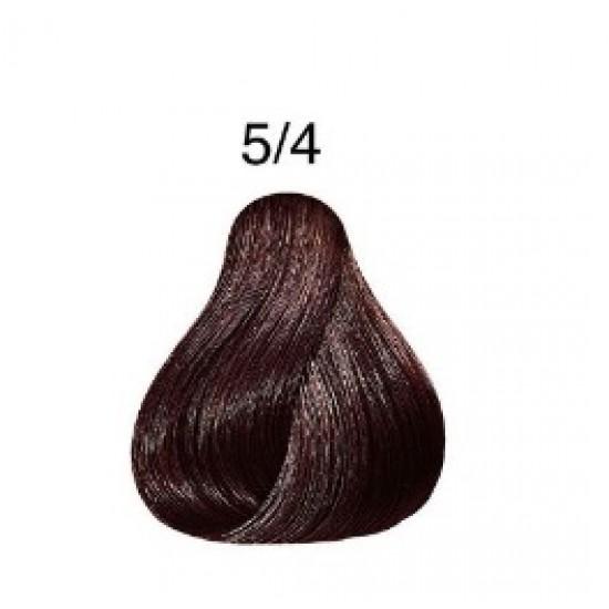 LONDA COLOR Vopsea permanenta 5/4, CASTANIU DESCHIS ARAMIU 60 ml