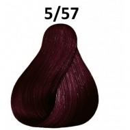 Londacolor  vopsea demi-permanenta  5/57 CASTANIU DESCHIS ROSU MARO 60ml