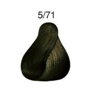 Londacolor  vopsea demi-permanenta  5/71 CASTANIU DESCHIS MARO CENUSIU 60ml
