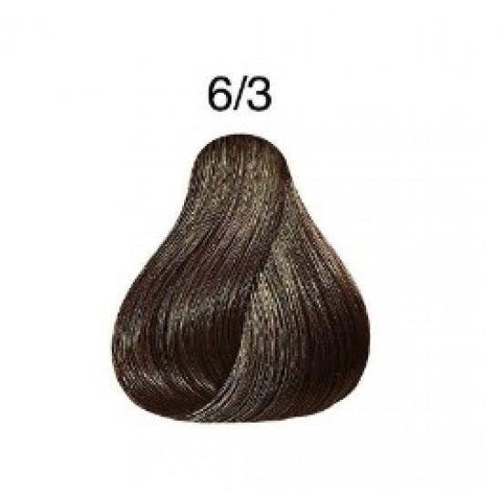 LONDA COLOR Vopsea permanenta 6/3, BLOND INCHIS AURIU 60 ml