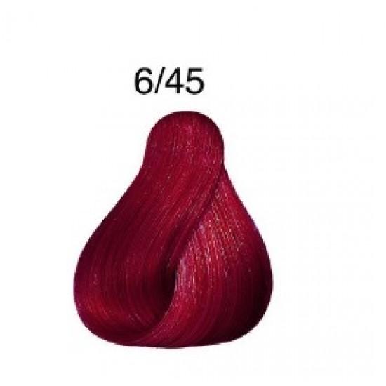 LONDA COLOR Vopsea permanenta 6/45 INCHIS CUPRU ROSU 60 ml
