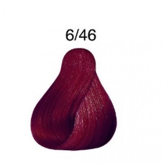 LONDA COLOR Vopsea permanenta 6/46, BLOND INCHIS CUPRU VIOLET 60 ml