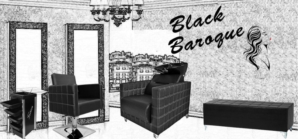 Pachet Salon Black Baroque