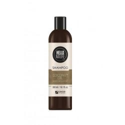 Sampon natural din extract de ulei nuca de cocos pentru hidratarea si intarirea firului de par 300ml