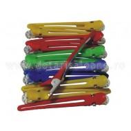 Clipsuri plastic si aluminiu colorate