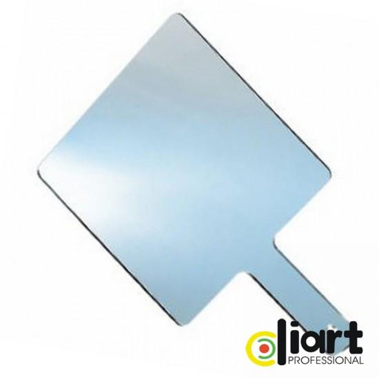 Oglinda plexiglas cu maner