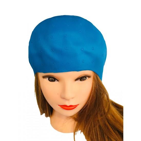Casca pentru suvite culoare albastra model E023
