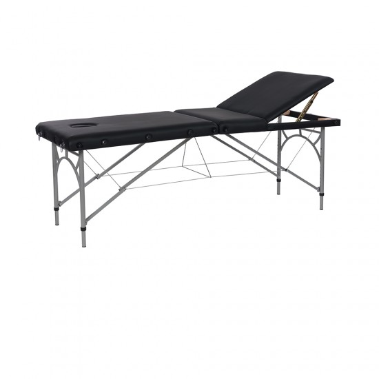 Pat masaj portabil din aluminiu,model Vastis