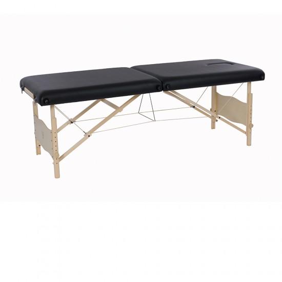 Pat portabil de masaj din lemn,model Plenic