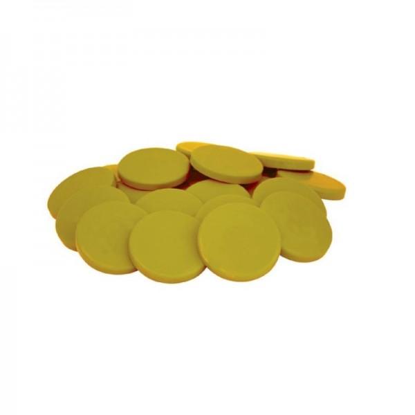 Ceara Elastica Monede - Galbena