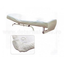Cuvertura pat cu elastic
