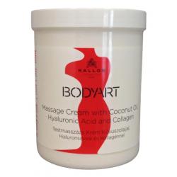 Crema masaj cu cocos, acid hialuronic si collagen