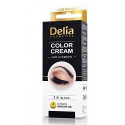 DELIA Vopsea crema pentru sprancene cu ulei de argan 1.0