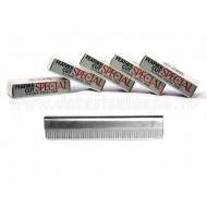 Lame Platinum Feather Cut
