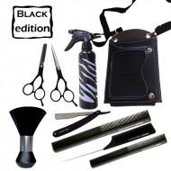 Set coafura / frizerie Black Edition