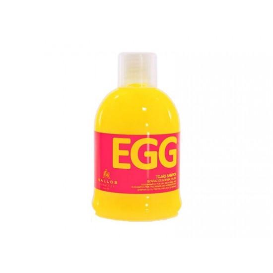 KALLOS Sampon cu ou pentru parul uscat si normal 1000ml