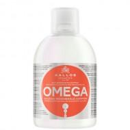 KALLOS Sampon regenerant cu complex omega 6 si ulei de macadamia pentru parul lipsit de viata 1000ml