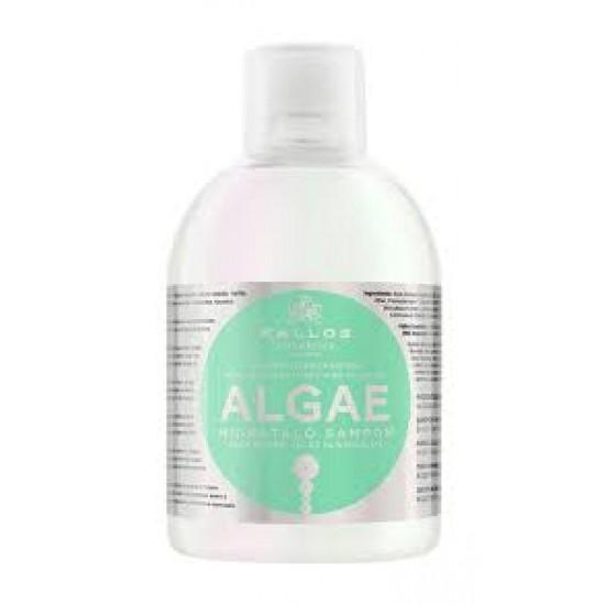 KALLOS Sampon hidratant cu extras de alge si ulei de masline 1000ml