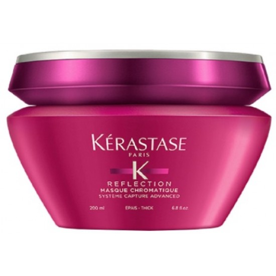 Masca pentru par vopsit cu structura groasa si sensibilizat Kerastase Reflection Chromatique 200ml