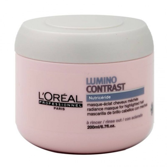 L'Oreal Professionnel Série Expert Lumino Contrast masca tratament pentru suvite si extensii 200ml