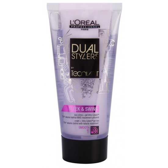 L'Oreal Professionnel Dual Stylers Sleek & Swing crema gel pentru netezire 150ml