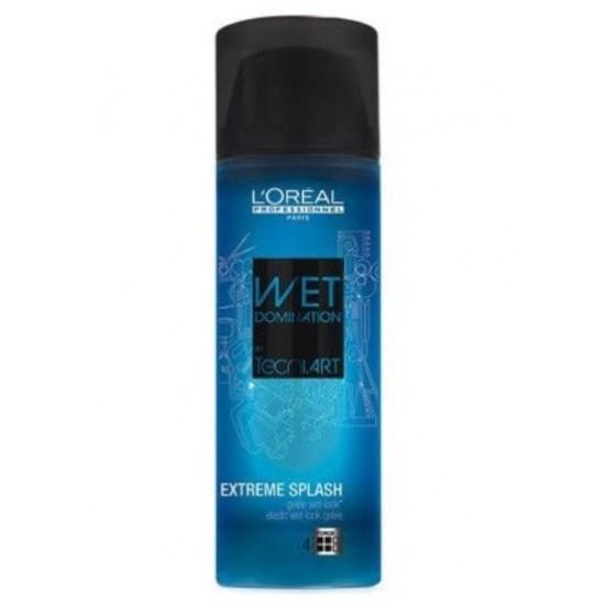 L'Oreal Professionnel Wet Domination Extreme Splash Gel efect umed 150ml