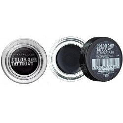 Fard de pleoape crema-gel Maybelline Color Tattoo  60 TIMELESS BLACK