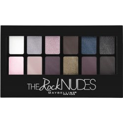 Paleta fard de pleoape Maybelline The Rock Nudes