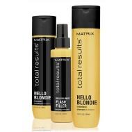Pachet promo Matrix Hello Blondie pentru parul blond
