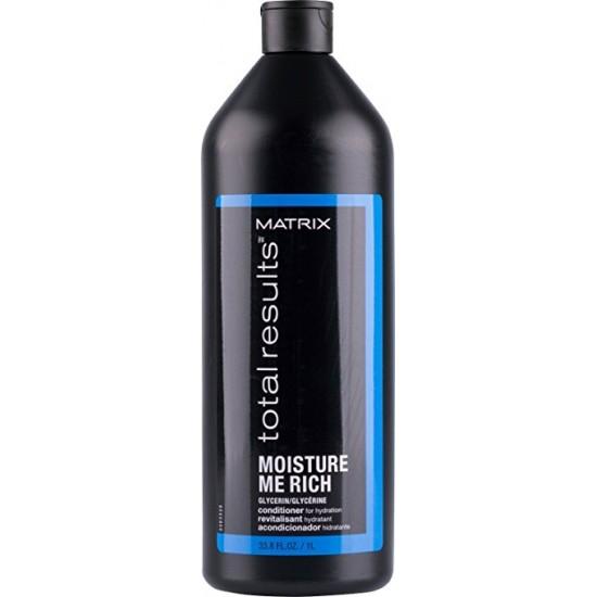Balsam hidratant Matrix Moisture Me Rich 1000ml