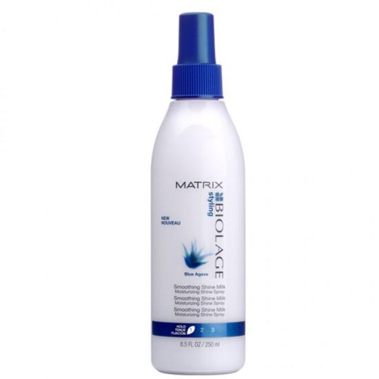 Lapte de netezire pentru toate tipurile de par Matrix Biolage Shine Milk 250ml