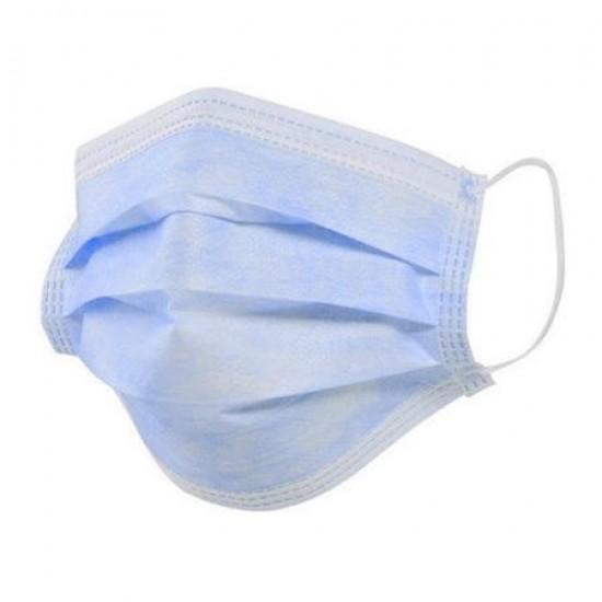Masca medicala faciala cu 3 straturi - set 10 bucati