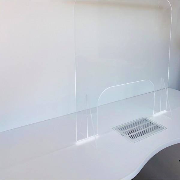 Separator din Plexiglas pentru birouri / mese / casierii