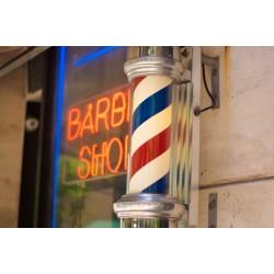 Semn luminos Barber Shop