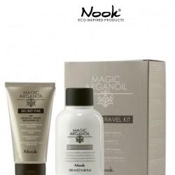 Nook Magic Argan Oil Sampon  Travel Kit  Tratament Secret