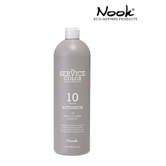 Nook Service Color Activator Oxidant  3% 10Vol 1000ml