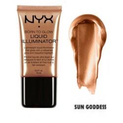 Iluminator lichid Nyx Born to Glow Sun Goddess