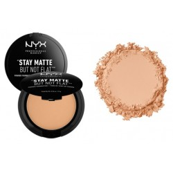 Fond de ten pudra Nyx Stay Matte But Not Flat Medium Beige