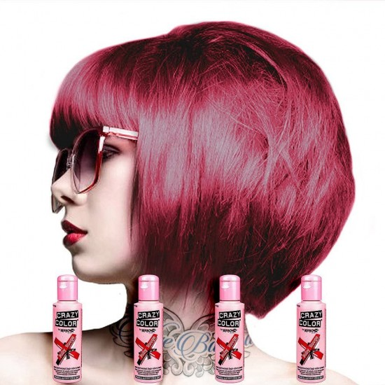 Crazy Color Ruby Rouge 100ml