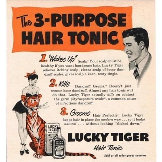 Lucky Tiger - Tonic capilar 473 ML