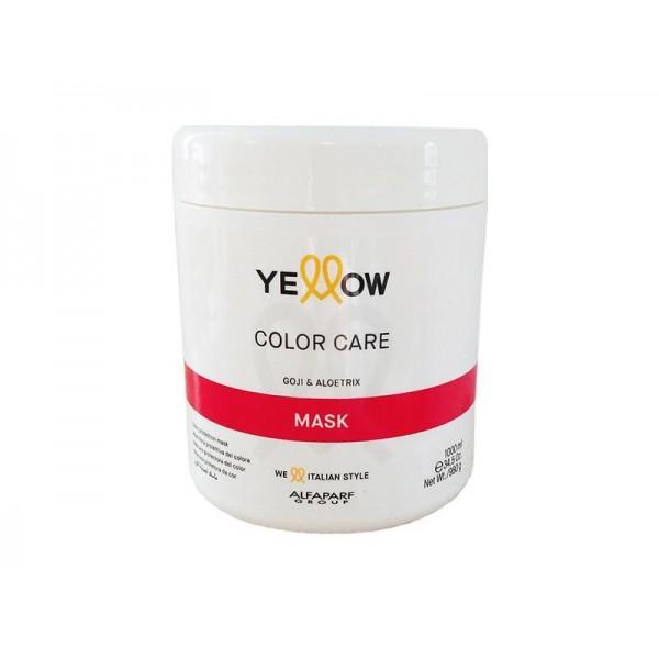 Masca pentru par vopsit Yellow Color Care 1000ml