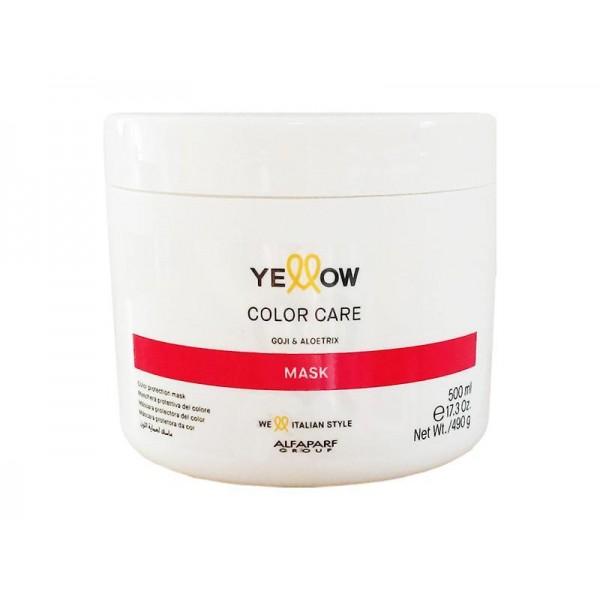Masca pentru par vopsit Yellow Color Care 500ml