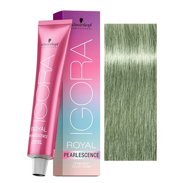 Vopsea permanenta de par Schwarzkopf Igora Royal Absolutes PEARLESCENCE  9.5-43 60ml