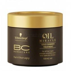 Tratament de par pentru stralucire Schwarzkopf Bonacure Oil Miracle 150ml