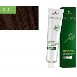 Schwarzkopf vopsea permanenta de par fara amoniac Essensity  3-0 SATEN INCHIS 60ml
