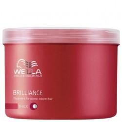 Masca tratament pentru par vopsit cu structura puternica Wella Brilliance 500ml