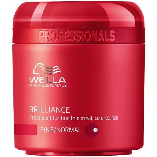Masca tratament pentru parul structura fina-normala Wella Brilliance 150ml